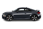 Car driver side profile view of a 2019 Audi TT-Coupe Base 2 Door Coupe