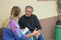 - don Antonio Mazzi, priest engaged in the help to drug addicts....- don Antonio Mazzi, sacerdote impegnato nell'assistenza ai tossicodipendenti