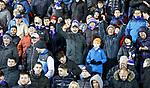 23.01.2019 Kilmarnock v Rangers: Rangers fans