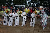 FIERJEPPEN: IT HEIDENSKIP, 31-07-2021, NFM, ©foto Martin de Jong