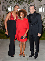 "LOS ANGELES, USA. October 22, 2019: Alfre Woodard, Roderick Spencer & Mavis Spencer at the premiere of AppleTV+'s ""SEE"" at the Regency Village Theatre.<br /> Picture: Paul Smith/Featureflash"