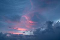 Clouds in Maui, Hawaii.