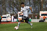 Aymen Barkok (Deutschland, Eintracht Frankfurt) - 25.03.2017: U19 Deutschland vs. Serbien, Sportpark Kelsterbach
