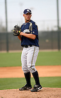 Patrick Ryan / Milwaukee Brewers spring training 2008..Photo by:  Bill Mitchell/Four Seam Images