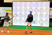 Alphen aan den Rijn, Netherlands, December 16, 2018, Tennispark Nieuwe Sloot, Ned. Loterij NK Tennis, Kids playground<br /> Photo: Tennisimages/Henk Koster
