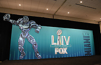 MIAMI BEACH, FL - JANUARY 28: The Fox Sports Media Day during Super Bowl LIV week on January 28, 2020 in Miami Beach, Florida. (Photo by Frank Micelotta/Fox Sports/PictureGroup)