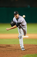 Jupiter Hammerheads relief pitcher Sean Burnett (8) delivers a pitch during a game against the Daytona Tortugas on April 13, 2018 at Jackie Robinson Ballpark in Daytona Beach, Florida.  Daytona defeated Jupiter 9-3.  (Mike Janes/Four Seam Images)