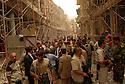 Iraq 2008.Bombing in Bagdhad, Berham Saleh, deputy prime minister of Irak, visiting the site.Irak 2008.Attentat a Bagdhad: Berham Saleh, vice premier ministre se rend sur les lieux de l'attentat