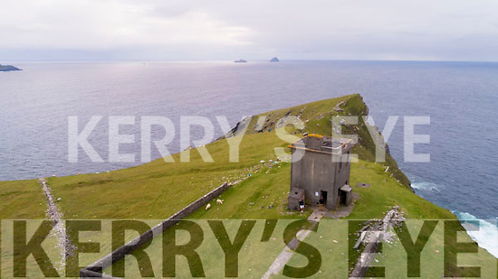 The Tower at Bray Head on Valentia Island.