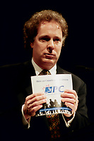 Montreal (Qc) CANADA -December 28, 1996<br /> -File Photo -<br /> <br /> Jean Charest, (then) leader of the federal Progressive Conservative Party <br /> <br /> Charest was the PC leader from 1993 to 1998 before becoming the leader of the Quebec Liberal Party. Charest was elected for the first time  April 14 2003, he is seeking a 3rd term in the  Quebec provincial election which will be held Dec 14, 2008.