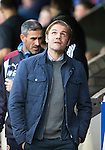 St Johnstone v Hearts…10.08.16..  McDiarmid Park…BetFred Cup<br />Robbie Neilson looks to the skies<br />Picture by Graeme Hart.<br />Copyright Perthshire Picture Agency<br />Tel: 01738 623350  Mobile: 07990 594431