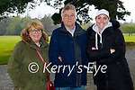 Enjoying a stroll in the Muckross Gardens in Killarney on Sunday, l to r: Jenny, Paul and Catherine Connelly.