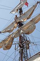 Europa, Tall Ships, Boston Harbor, Boston, MA,