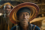 Dogon tribesman portrait, Mali