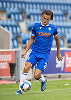 Miles Welch-Hayes of Colchester United in action during Colchester United vs Oldham Athletic, Sky Bet EFL League 2 Football at the JobServe Community Stadium on 3rd October 2020