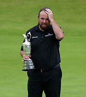 210719 | The 148th Open - Final Round<br /> <br /> An emotional Shane Lowry of Ireland with the Claret Jug 148th Open Championship at Royal Portrush Golf Club, County Antrim, Northern Ireland. Photo by John Dickson - DICKSONDIGITAL