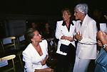 MARINA DARIA DI SAVOIA CON MARTA MARZOTTO<br /> SFILATA GAI MATTIOLO PALAZZO COLONNA ROMA 1998