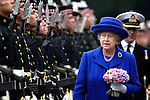 Pic Kenny Smith 03/07/2006.HM the Queen at Holyrood palace for the ceremony of the keys.