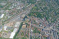 Bergedorf Zentrum vom Bahnhof bis zum Mohnhof: EUROPA, DEUTSCHLAND, HAMBURG, (EUROPE, GERMANY), 15.06.2020: Bergedorf Zentrum vom Bahnhof bis zum Mohnhof