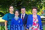 Carolyn , Neil , Katelyn and Margaret Horgan at the Lissivigeen Confirmation in St Marys CAthedral on Saturday