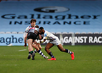 26th December 2020; Twickenham Stoop, London, England; English Premiership Rugby, Harlequins versus Bristol Bears; Semi Radradra of Bristol Bears tackles James Lang of Harlequins