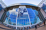 The Dallas Cowboys stadium before the pre- season game between the Houston Texans and the Dallas Cowboys at the AT & T stadium in Arlington, Texas. Houston defeats Dallas 24 to 6.