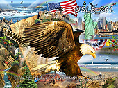 Lori, LANDSCAPES, LANDSCHAFTEN, PAISAJES, paintings+++++Patriotic Eagle_10_72,USLS261,#l#, EVERYDAY ,puzzle,puzzles
