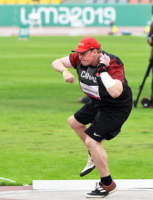 David Bambrick, Lima 2019 - Para Athletics // Para-athlétisme.<br />