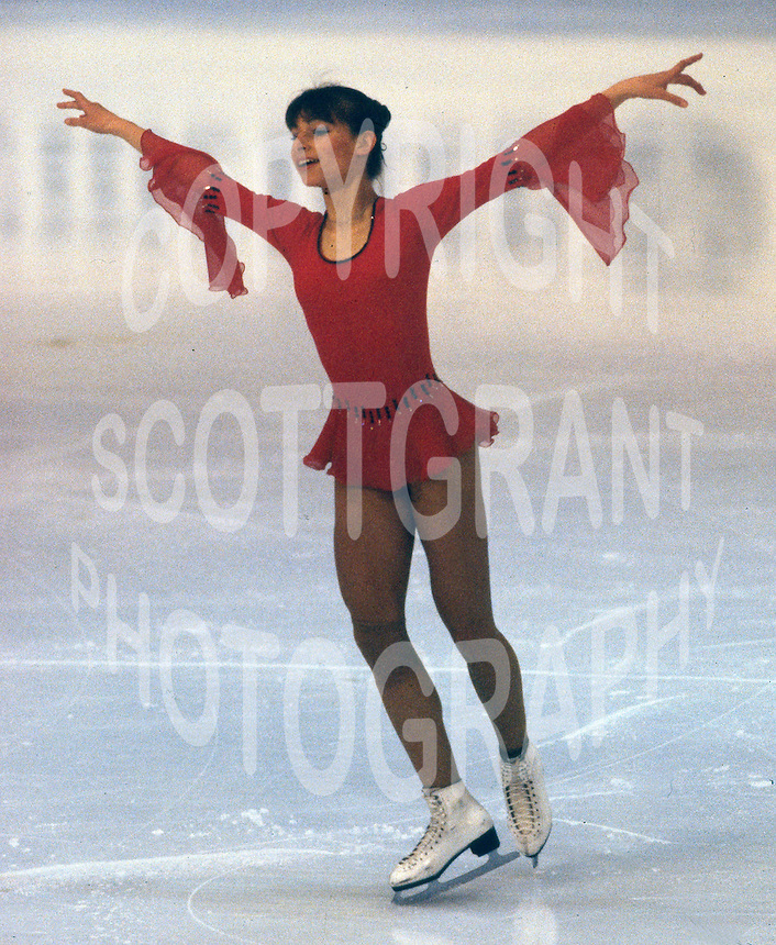 Claudia Kristofics-Binder of Austria competes at the 1978 World Figure Skating Championships in Ottawa, Canada. Photo copyright Scott Grant