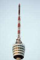 Stuttgarter Fernsehturm neben dem Gazi Stadion