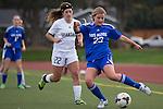 2013 girls soccer: Los Altos High School vs. Mountain View High School