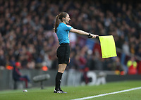 Assistant referee Sian Massey-Ellis<br /> <br /> Photographer Rob Newell/CameraSport<br /> <br /> The Premier League - Arsenal v West Ham United - Saturday 7th March 2020 - The Emirates Stadium - London<br /> <br /> World Copyright © 2020 CameraSport. All rights reserved. 43 Linden Ave. Countesthorpe. Leicester. England. LE8 5PG - Tel: +44 (0) 116 277 4147 - admin@camerasport.com - www.camerasport.com