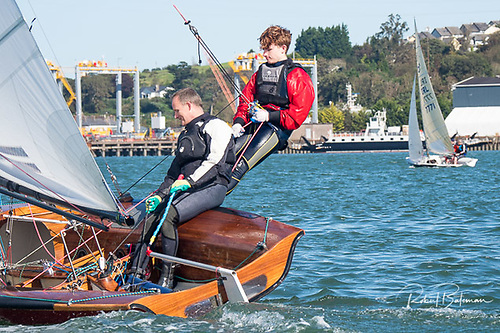 Local 505 dinghy racing in Cork Harbour