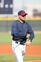 Manny Acta - manager. Cleveland Indians spring training workouts at their complex in Goodyear, AZ - 03/06/2010.Photo by:  Bill Mitchell/Four Seam Images.