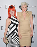 Robyn and Hayley Williams at The ELLE Women in Music Event held at The Music Box in Hollywood, California on April 11,2011                                                                               © 2010 Hollywood Press Agency