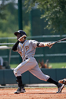Starling Marte on a rehab start with the Gulf Coast League Pirates at the ESPN Wide World of Sports Complex in Orlando, Florida July 31, 2010. Photo By Scott Jontes/Four Seam Images