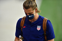 ORLANDO CITY, FL - JANUARY 31: Walker Zimmerman #5 of the United States before a game between Trinidad and Tobago and USMNT at Exploria stadium on January 31, 2021 in Orlando City, Florida.