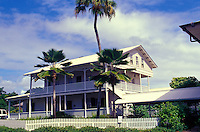 Lyman Museum, a missionary home from the 1800s located in Hilo on the Big Island.  The site also has scientific and Hawaiian culture galleries