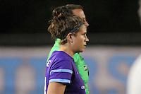 Piscataway, NJ - Wednesday Sept. 07, 2016: Sarah Hagen during a regular season National Women's Soccer League (NWSL) match between Sky Blue FC and the Orlando Pride FC at Yurcak Field.