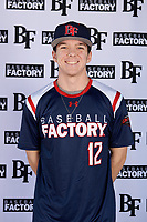 Justin Wright (12) of Hempfield Area High School in Greensburg, Pennsylvania during the Baseball Factory All-America Pre-Season Tournament, powered by Under Armour, on January 12, 2018 at Sloan Park Complex in Mesa, Arizona.  (Mike Janes/Four Seam Images)