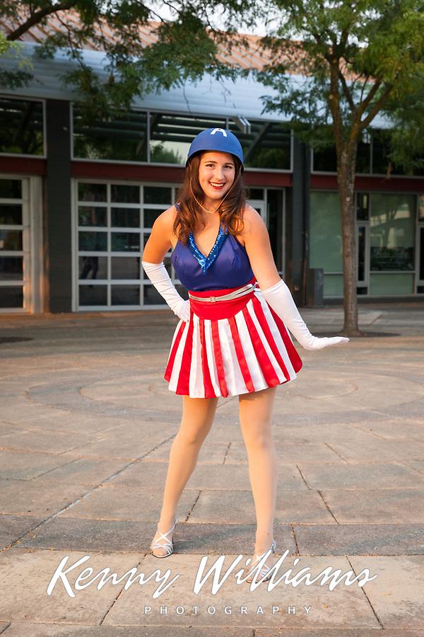Captain America Girl, Renton City Comicon 2017, Washington, USA.