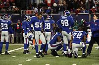 Enttaeuschung bei den New York Giants<br /> New York Giants vs. New England Patriots<br /> *** Local Caption *** Foto ist honorarpflichtig! zzgl. gesetzl. MwSt. Auf Anfrage in hoeherer Qualitaet/Aufloesung. Belegexemplar an: Marc Schueler, Am Ziegelfalltor 4, 64625 Bensheim, Tel. +49 (0) 6251 86 96 134, www.gameday-mediaservices.de. Email: marc.schueler@gameday-mediaservices.de, Bankverbindung: Volksbank Bergstrasse, Kto.: 151297, BLZ: 50960101