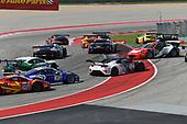 Pirelli World Challenge<br /> Grand Prix of Texas<br /> Circuit of The Americas, Austin, TX USA<br /> Saturday 2 September 2017<br /> Peter Kox/ Mark Wilkins, Patrick Long/Joerg Bergmeister<br /> World Copyright: Richard Dole/LAT Images<br /> ref: Digital Image RD_COTA_PWC_17226