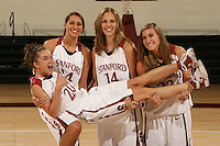 01 October 2007: Hannah Donaghe (20), Ashley Cimino (24), Kayla Pedersen (14), and Jeanette Pohlen (23).