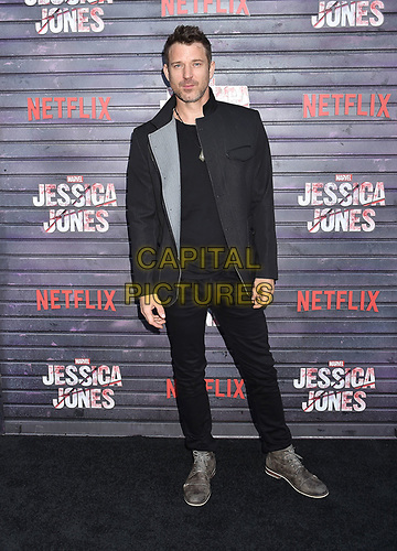 """HOLLYWOOD, CA - MAY 28: Wil Traval attends a Special Screening Of Netflix's """"Jessica Jones"""" Season 3 at ArcLight Hollywood on May 28, 2019 in Hollywood, California.<br /> CAP/ROT/TM<br /> ©TM/ROT/Capital Pictures"""