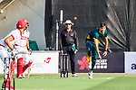 Corne Dry of South Africa bowls during Day 1 of Hong Kong Cricket World Sixes 2017 Group A match between Hong Kong vs South Africa at Kowloon Cricket Club on 28 October 2017, in Hong Kong, China. Photo by Vivek Prakash / Power Sport Images