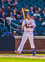 20 April 2013: New York Mets third baseman David Wright in action against the Washington Nationals at Citi Field in Flushing, NY. The Mets fell to the visiting Nationals 7-6, tying their 3-game weekend series at one a piece. Mandatory Credit: Ed Wolfstein Photo *** RAW (NEF) Image File Available ***