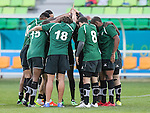 Lebanon plays Saudi Arabia during the17th Asian Games 2014 Rugby Mens Sevens tournament on October 01, 2014 at the Namdong Asiad Rugby Field in Incheon, South Korea. Photo by Alan Siu / Power Sport Images