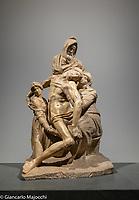 Italy, Florence Museo dell'Opera di Santa Maria del Fiore, La Pieta Bandini