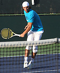 March 16, 2009.Rafael Nadal of Spain, working out on the practice court at the BNP Paribas Open, Indian Wells, CA